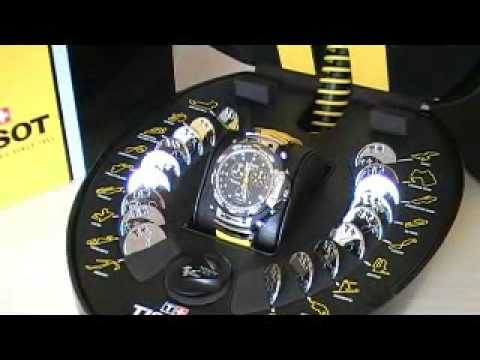 Orologio Tissot T-Race MotoGP Limited Edition 2008 - YouTube