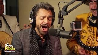 GERARDO ORTIZ y Vicente Fernández sorprende  Eugenio Derbez, solo en El Show de Piolín