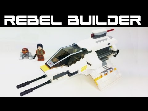Lego Star Wars Rebels The Phantom Set #75048 Review!