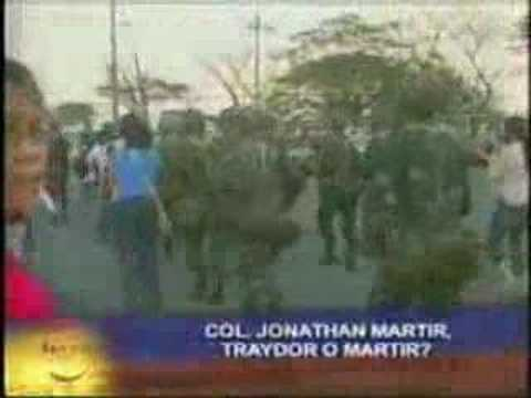 abs-cbn news BANDILLA - Philippine Marine Corps, Philippine Navy interview on Col John Martir