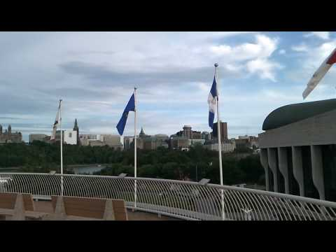 Canadian Museum of Civilization, Ottawa Skyline