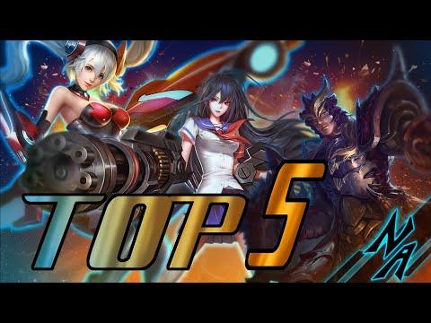 Топ 5 персонажей стрелков(адк) | Top 5 adc in 12-13 season | Heroes Evolved