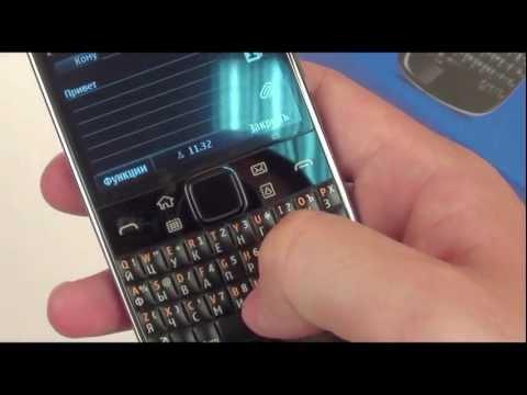 Обзор Nokia E6 - видео обзор Нокия Е6 от Video-shoper.ru