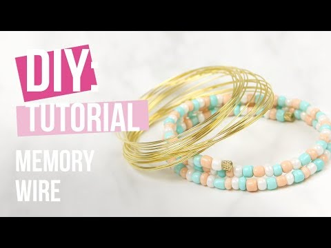 Schmuck machen: Beadalon Memory Wire ♡ DIY