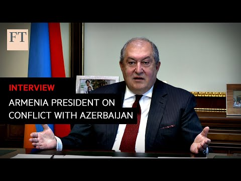 Armenian president calls for action against Turkish 'interference' | FT