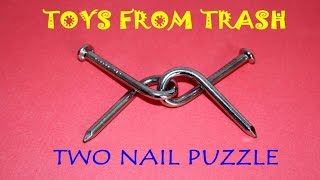 Two Nail Puzzle | English | Simple Puzzle