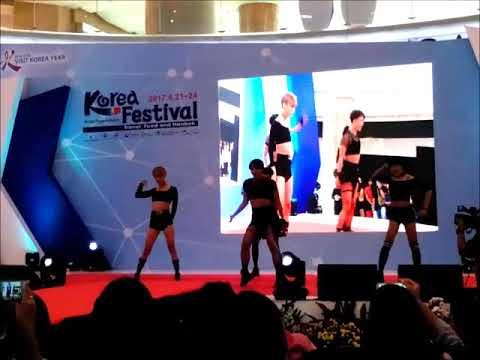 170923 POISON - Good Bye Baby, Bad Girl Good Girl & Hush at Korea Festival Day 3