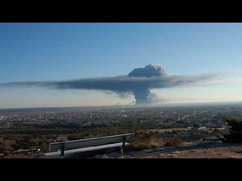CAUGHT ON CAMERA: Fertilizer Plant Explosion Near Waco,Texas