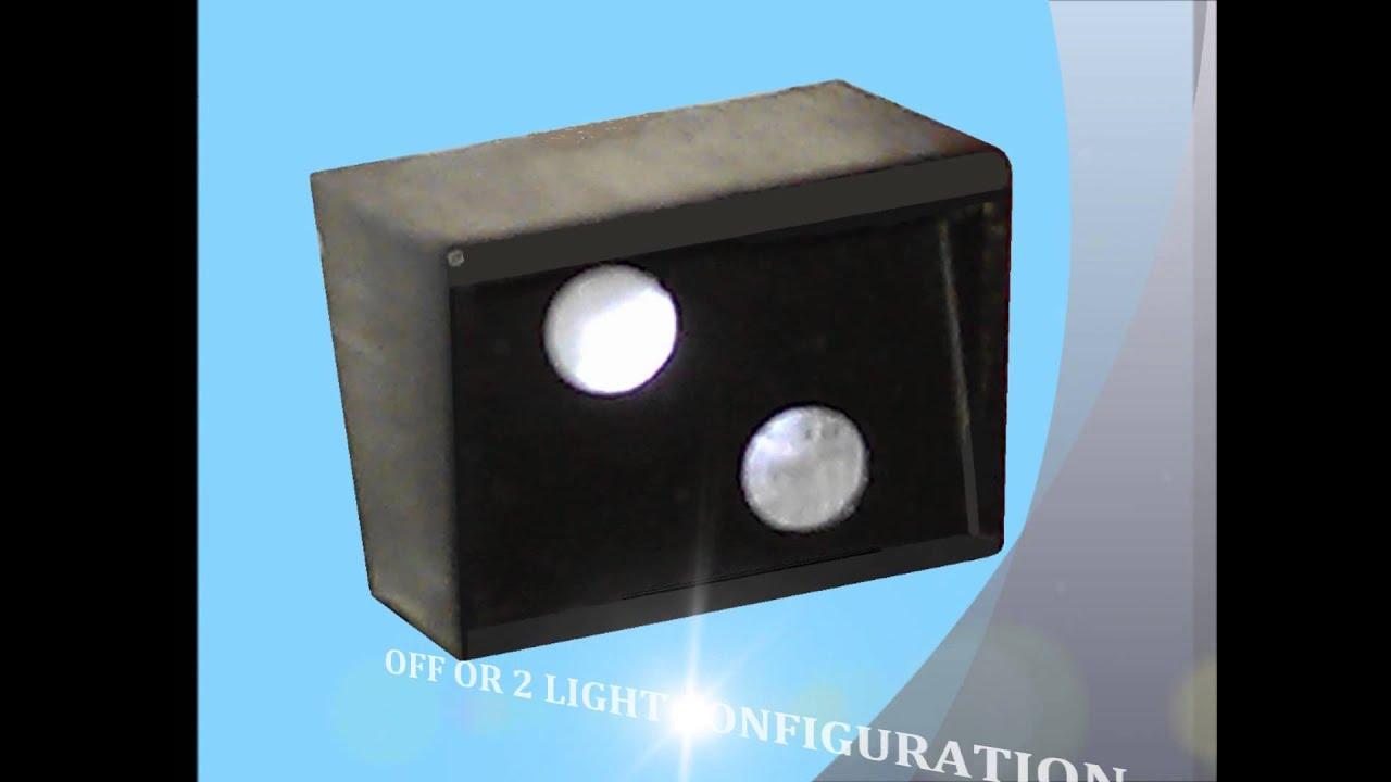 Eckon ES101 Station OFF Box or 2 light configuration kit NEW