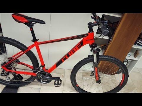5b12240d9da CUBE AIM SL Mountainbike RED´N´BLACK Modell 2016 - YouTube