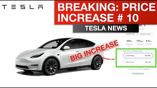 Tesla Breaking - Price Change #10 of 2021; It's a BIG One