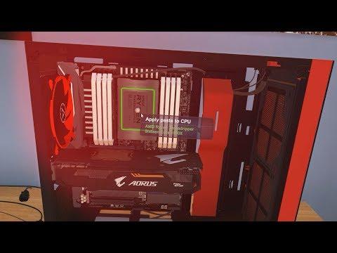 PC Building Simulator !! كيف تركب كمبيوتر أحلامك