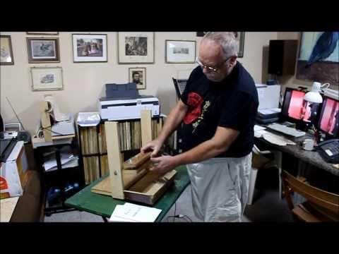 Make your own bookbinding machine