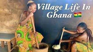 Authentic Village Ghanaian Banku and Okro Soup Recipe With Dee Mwango