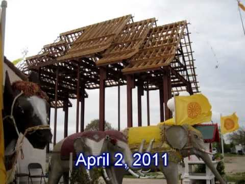 New Buddhist Temple Building at Fresno USA