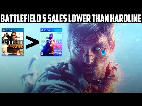 EA and DICE Suffer Crushing Blow | Battlefield 5 Sales Lower Than Battlefield Hardline thumbnail