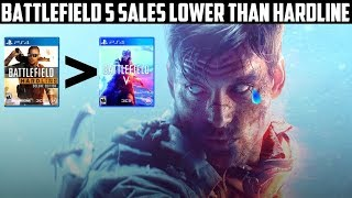 EA and DICE Suffer Crushing Blow | Battlefield 5 Sales Lower Than Battlefield Hardline