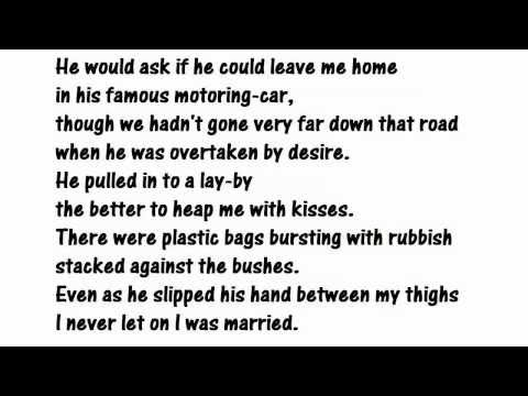 """""""The Unfaithful Wife"""" by Nuala Ni Dhomhnaill (read by Tom O'Bedlam)"""