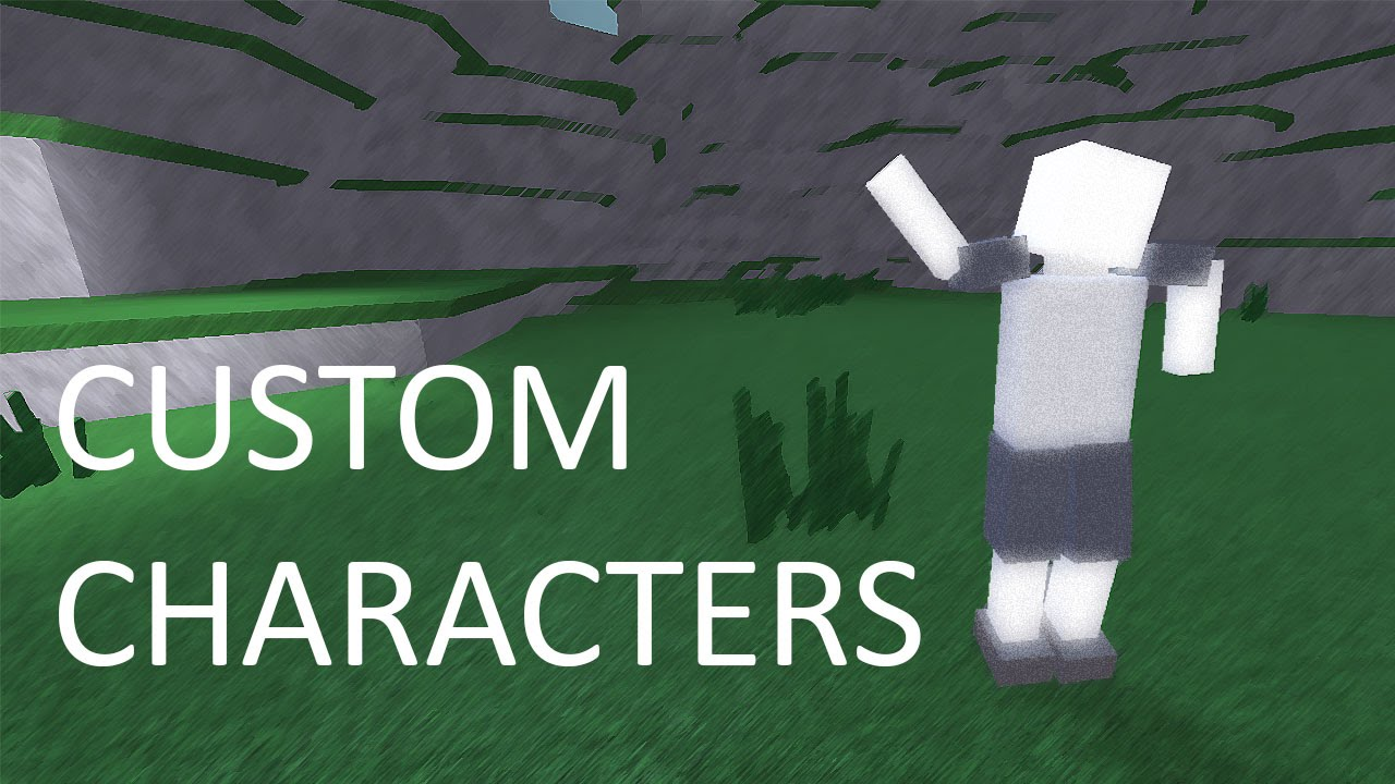 Roblox Custom Character Creation And Animation Part 1 Youtube