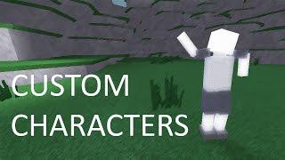 Roblox Custom carattere creazione e animazione! (Parte 1)