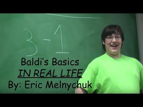 Baldi's Basic (In real life)