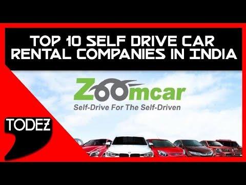 Top 10 Self Drive Car Rental Companies In India Youtube