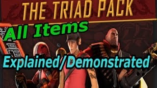TF2: Triad Pack: All Items Explained/Demonstrated [Update Coverage]