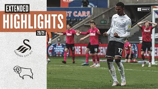 Swansea City v Derby County | Extended Highlights
