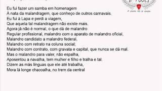 Homenagem ao Malandro - Moreira da Silva