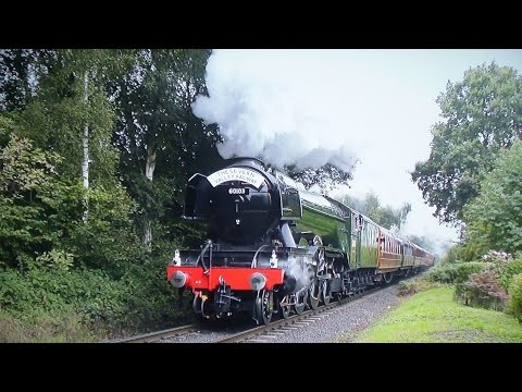 'Flying Scotsman' On The Severn Valley Railway - Pacific Power 2016