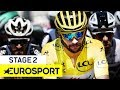 Sagan in Yellow Jersey After Sprint Finish | Tour de France 2018 | Stage 2 Highlights