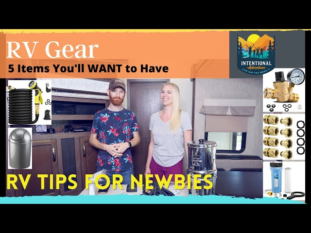 RV Gear | 5 Items You'll WANT to have | RV Tips for Newbies