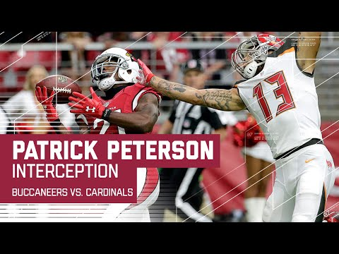 Patrick Peterson Picks Off Jameis Winston in the End Zone! | Buccaneers vs. Cardinals | NFL