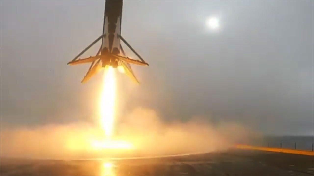 Falcon 9 launch, landing & explosion ...