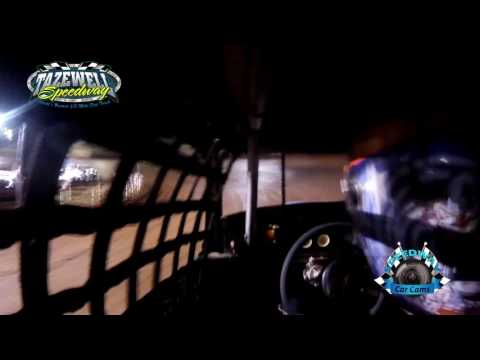 #2 Bradley Hutchinson - Classic 2nd Feature - 5-28-17 Tazewell Speedway - In-Car Camera