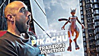 "(Reaction) ""POKÉMON: Detective Pikachu"" Di Rob Letterman - Trailer #2"