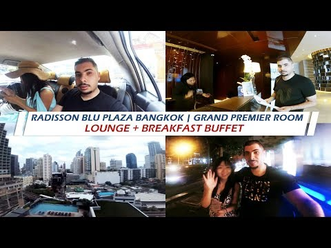 Radisson Blu Plaza Bangkok | Grand Premier Room | Lounge + Breakfast buffet