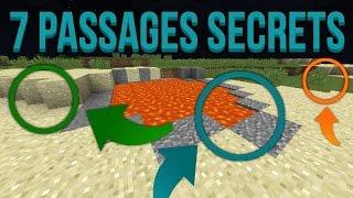 7 passages secrets dans Minecraft !