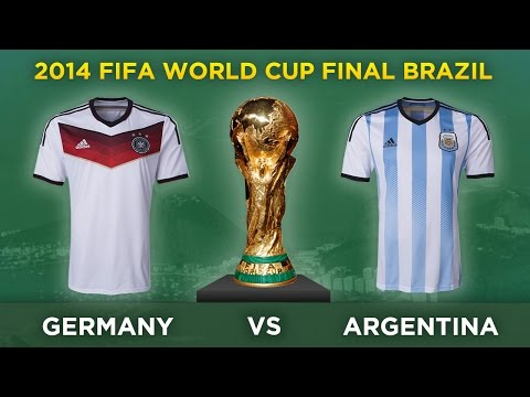 GERMANY v ARGENTINA | 2014 World Cup Final Brazil Preview