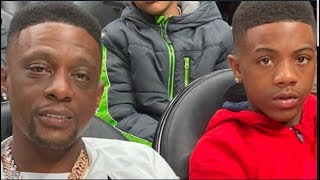 Boosie say he was BANNED from Planet Fitness for views on D-Wade's son, His son Tootie speaks on it