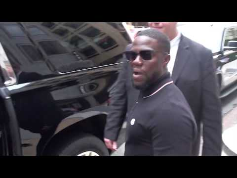 Kevin Hart is asked which presidential candidate could keep up with him in the gym