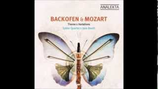 4/4 Allegretto con Variazioni - Mozart Clarinet Quintet in A Major for Basset Clarinet K. 581