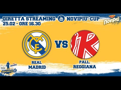[Novipiù Europe Cup 2017 - Group B] Real Madrid - Pallacanestro Reggiana LIVE