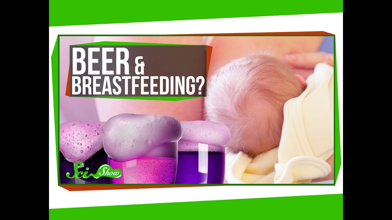 Does Beer Actually Help Breastfeeding? - YouTube