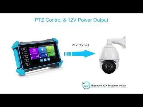 5inch H.265 IP Camera Tester 1080P Security CVI TVI Analog Camera Test CCTV Tester Monitor Tester