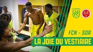 FC Nantes - Stade de Reims : la joie du vestiaire