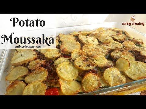 How To Make MOUSSAKA Recipe | BEST Potato Moussaka | Musaka Recept