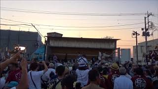 H30-07-15 神立・逆西合同共演 両地区神輿入場