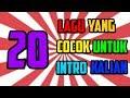 Gambar cover 20 LAGU YANG COCOK UNTUK INTRO KALIAN + LINK DOWNLOAD NYA