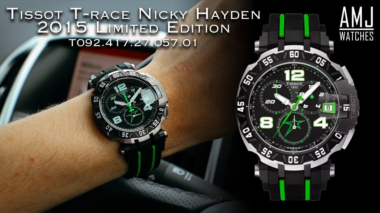 091f37b67fd Tissot T-race Nicky Hayden Limited Edition 2015 (T092.417.27.057.01 .